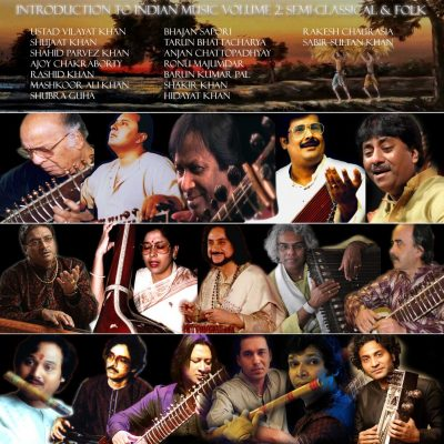 Introduction to Indian Music Volume 2 Album Cover