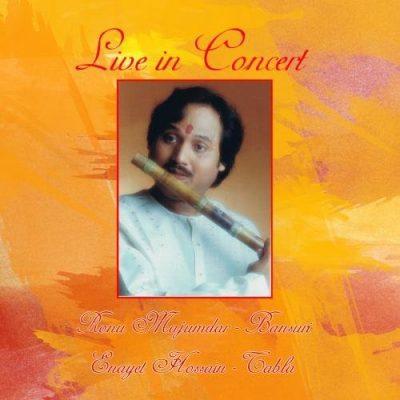 Live in Concert Ronu Majumdar Album Cover