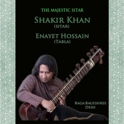 The Majestic Sitar Album Cover