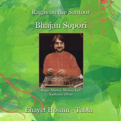 Ragas on the Santoor Albu Cover